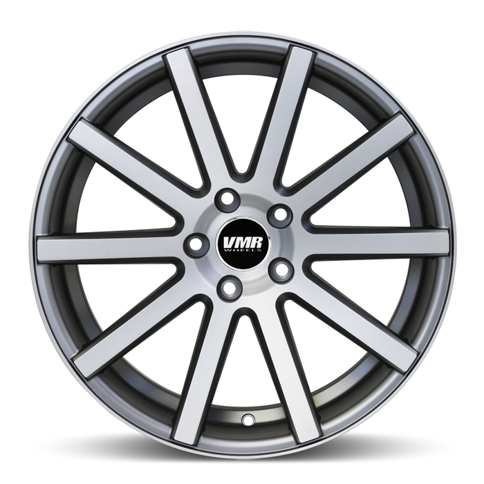 <b>VMR</b> V702 -<br> Matte Gunmetal w/ Brushed Face