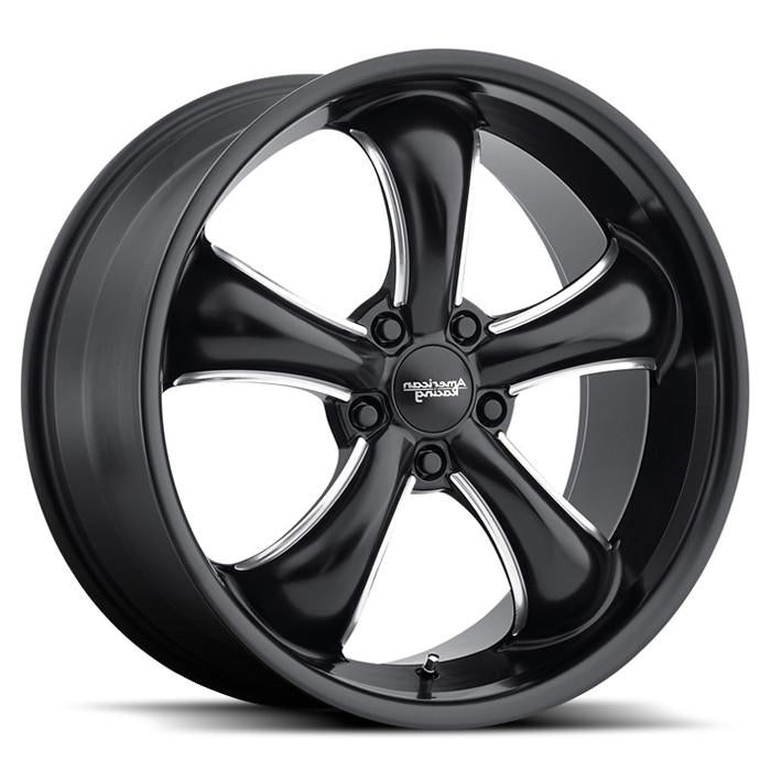 <b>American Racing</b> AR912 TT60 -<br> Satin Black Milled
