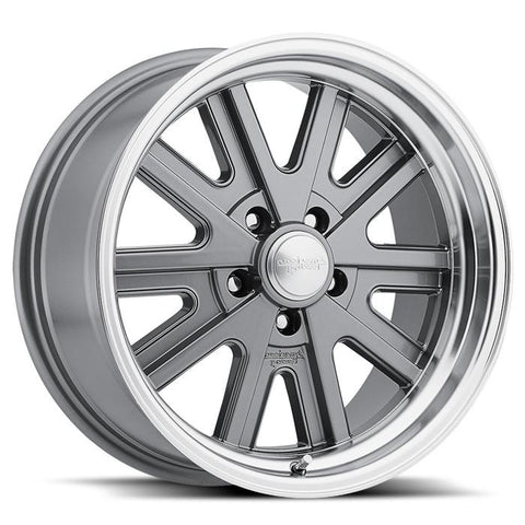 <b>American Racing</b> VN527 -<br> Mag Gray Machined Lip