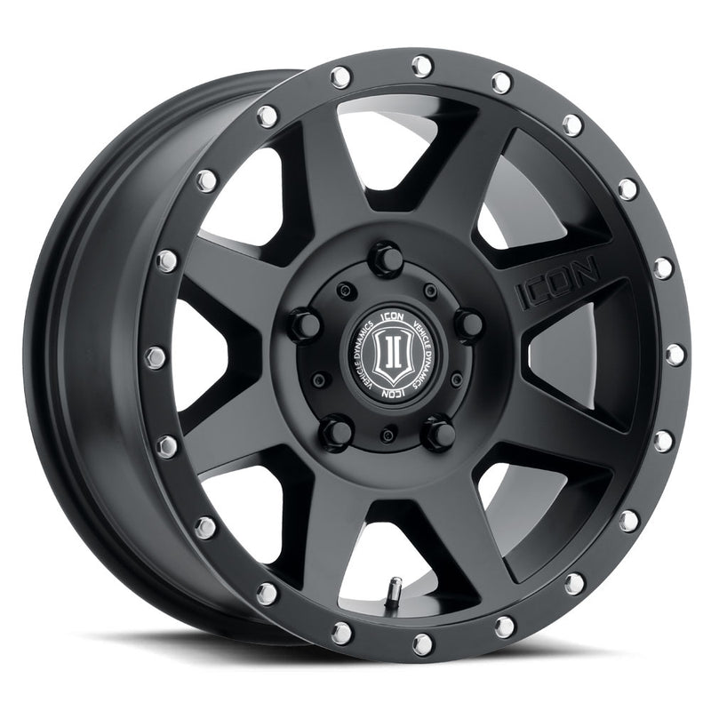 <b>Icon Alloys</b> Rebound -<br> Satin Black