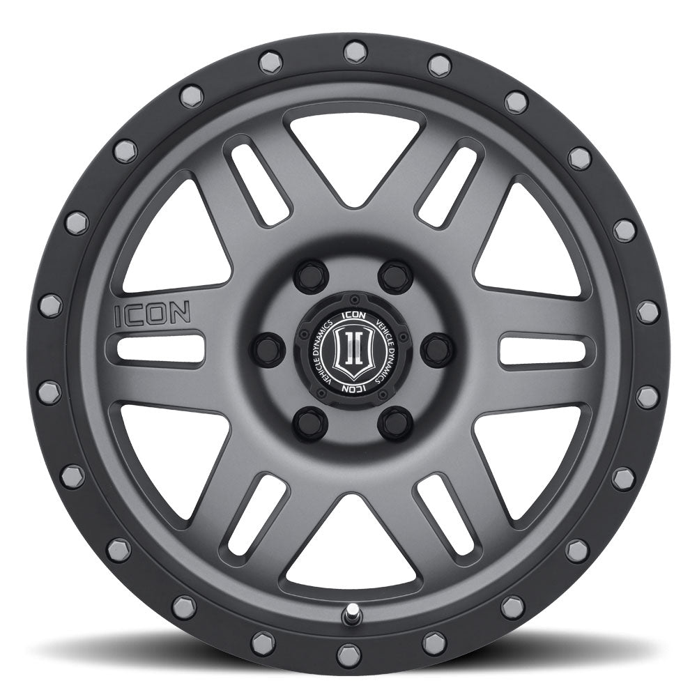 <b>Icon Alloys</b> Six Speed -<br> Titanium