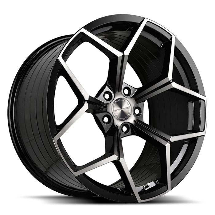 <b>Stance</b> SF06 -<br> Gloss Black Tinted Face