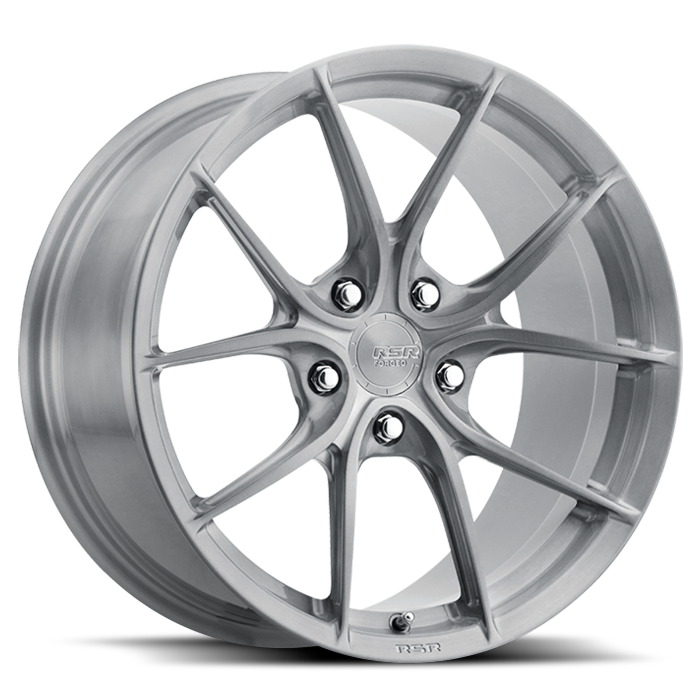 <b>RSR Forged</b> R903 -<br> Brushed Titanium