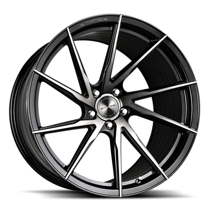 <b>Stance</b> SF01 -<br> Gloss Black Tinted Face
