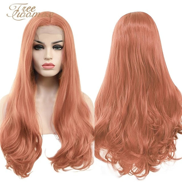 Synthetic Lace Front Wig For Women