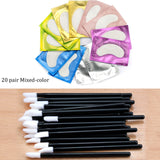 50pcs Disposable Eyelashes brush Individual Lash