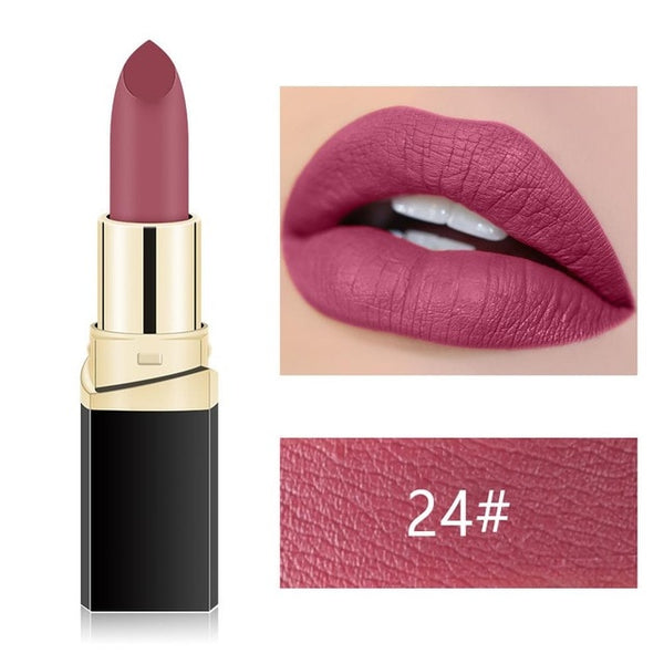 Makeup Waterproof Women Lipstick Cosmetics 18 Color