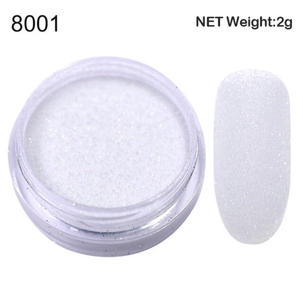 1 Box  Nail Glitter Powder Sugar Starlight Effect Chrome