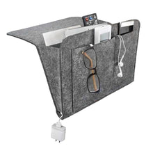 Load image into Gallery viewer, Bed Storage Bag Pockets Felt Bedside Hanging Table Sofa Bedroom Organizer Holder