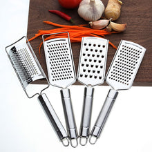Load image into Gallery viewer, Multi-purpose Stainless Steel Sharp Vegetable Fruit Tool Lemon Zester Cheese Grater Home Decoration Kitchen Accessories