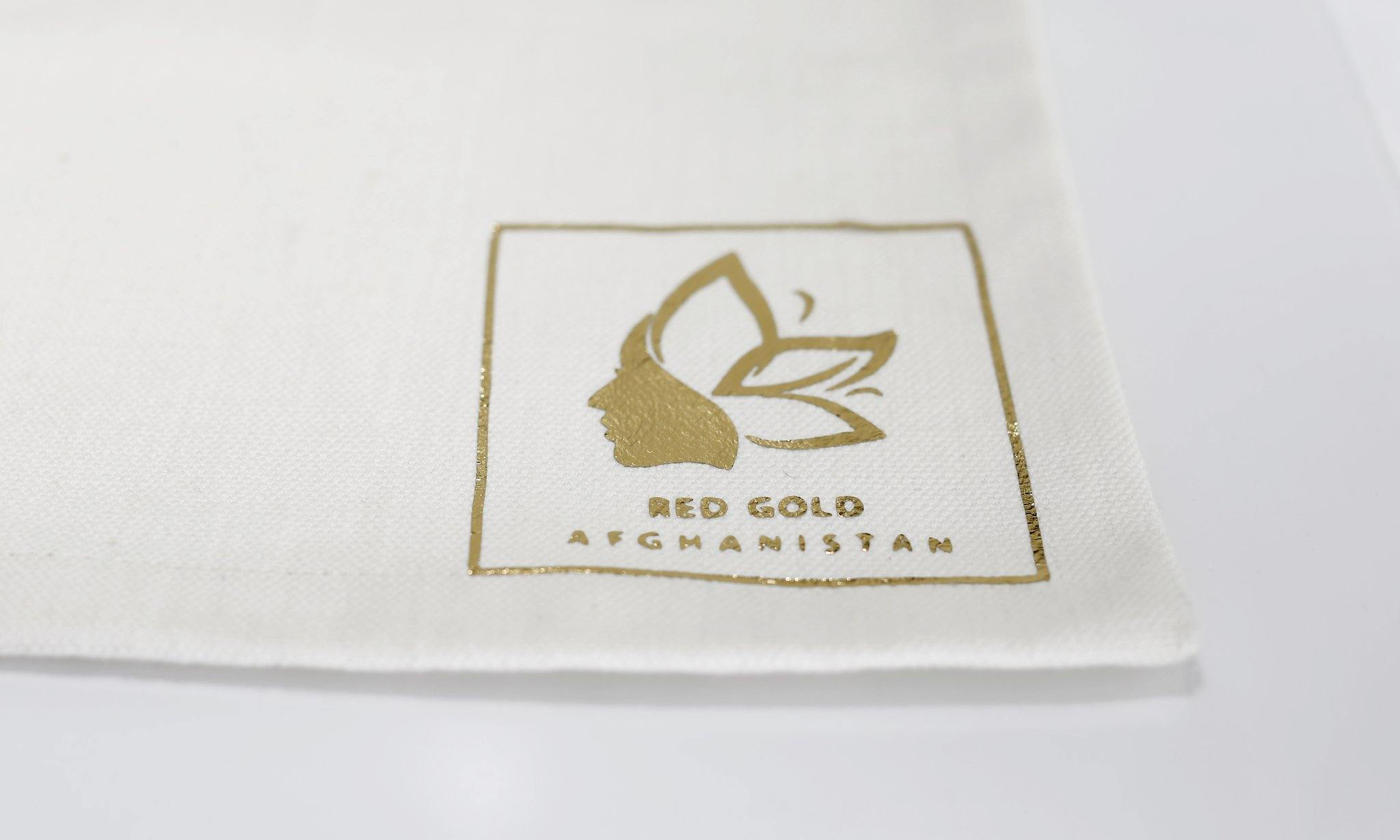 Table Cloth - Red Gold of Afghanistan - Premium Afghan Saffron
