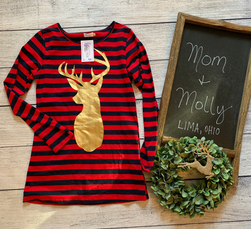 Reindeer Long Sleeve Tee