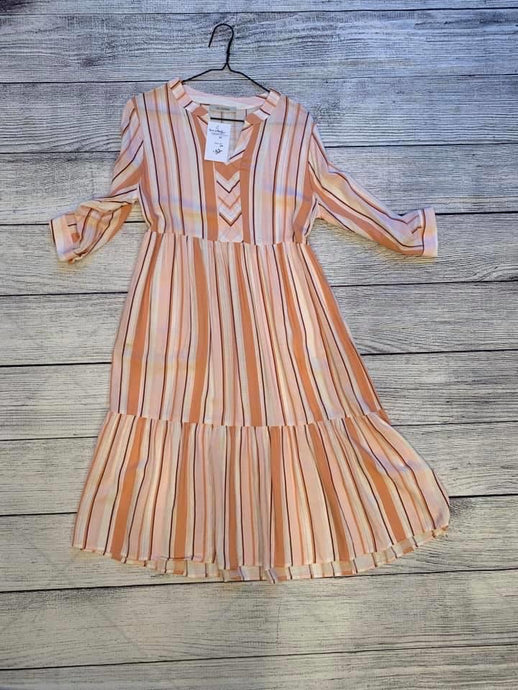 Boho Striped Dress