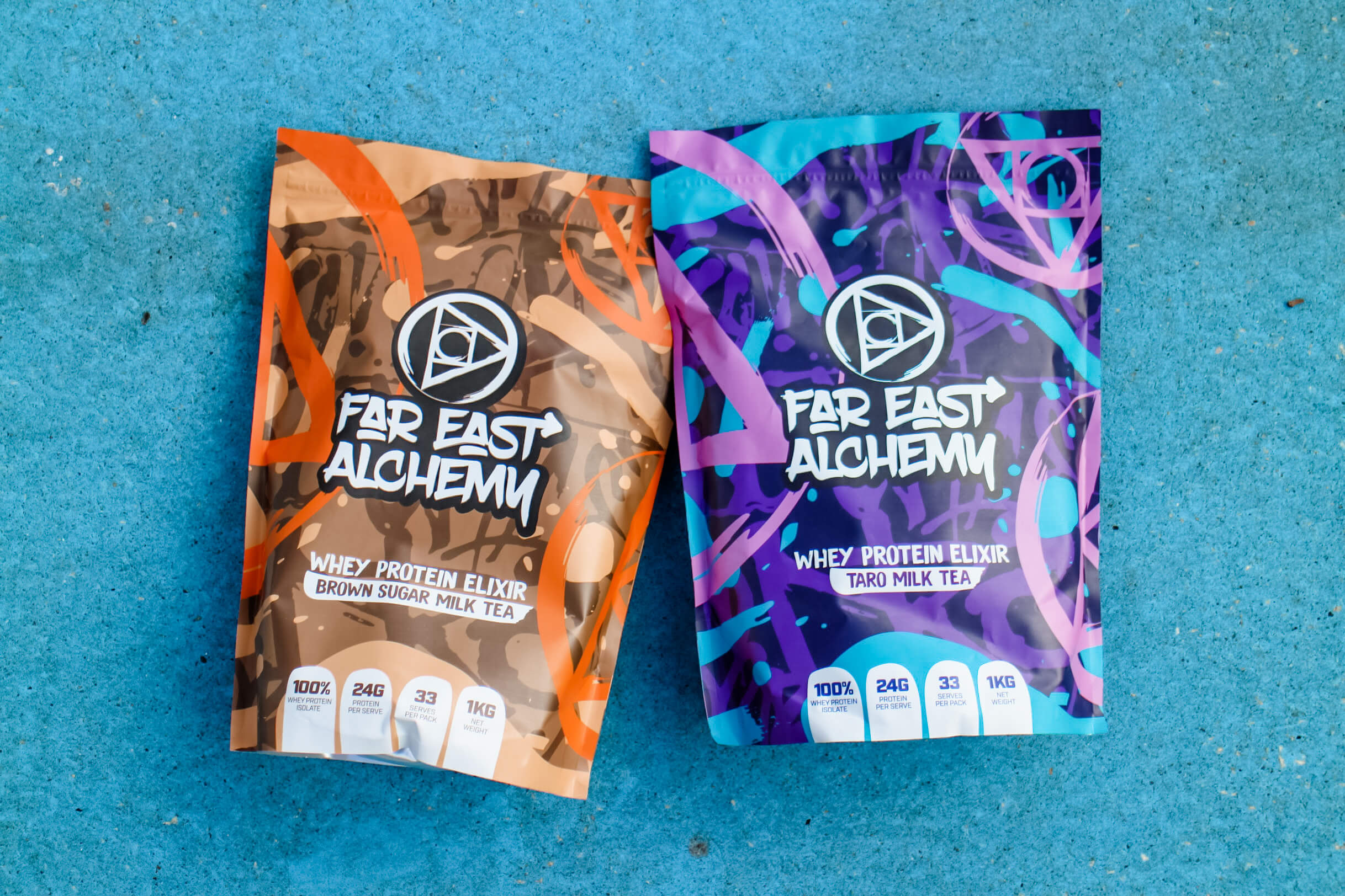 Whey protein elixir, far east alchemy