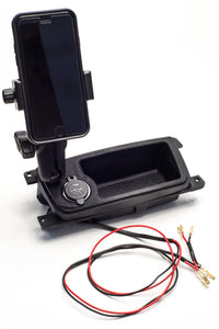 E90 Center Console Tray w/ Dual QC USB (E90/E91/E92/E93)