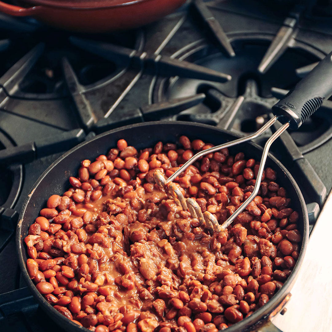 Refried beans recipe by Primary Beans