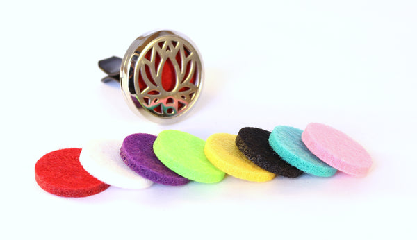 Essential Oil Car Diffuser-Lotus Flower