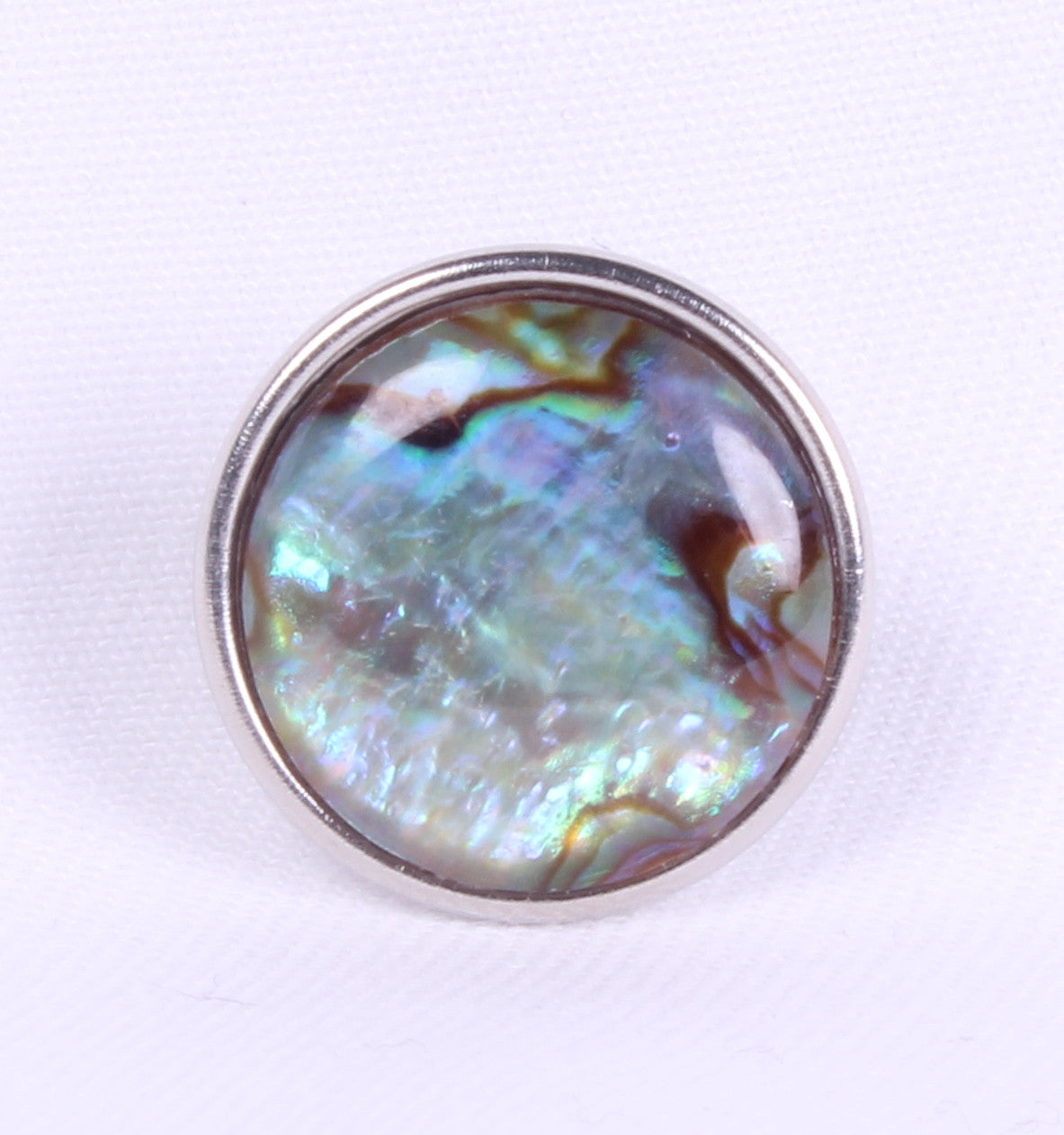 Sparkle Snap-Genuine Abalone Shell