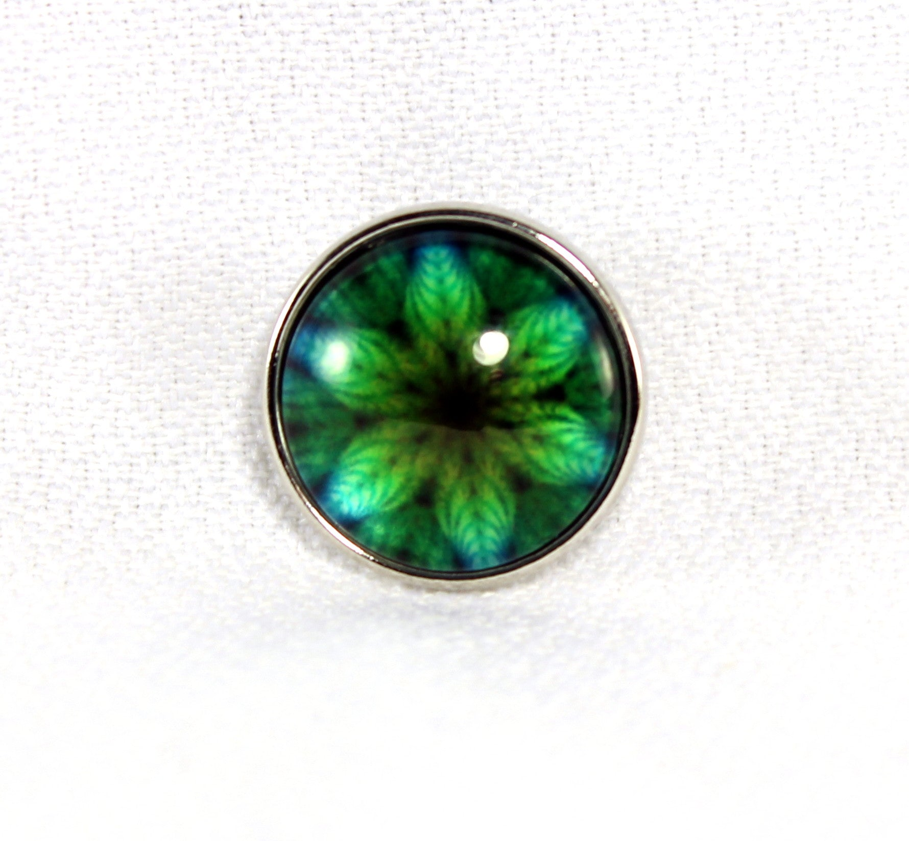 Sparkle Snap-Blue Green Kaleidescope
