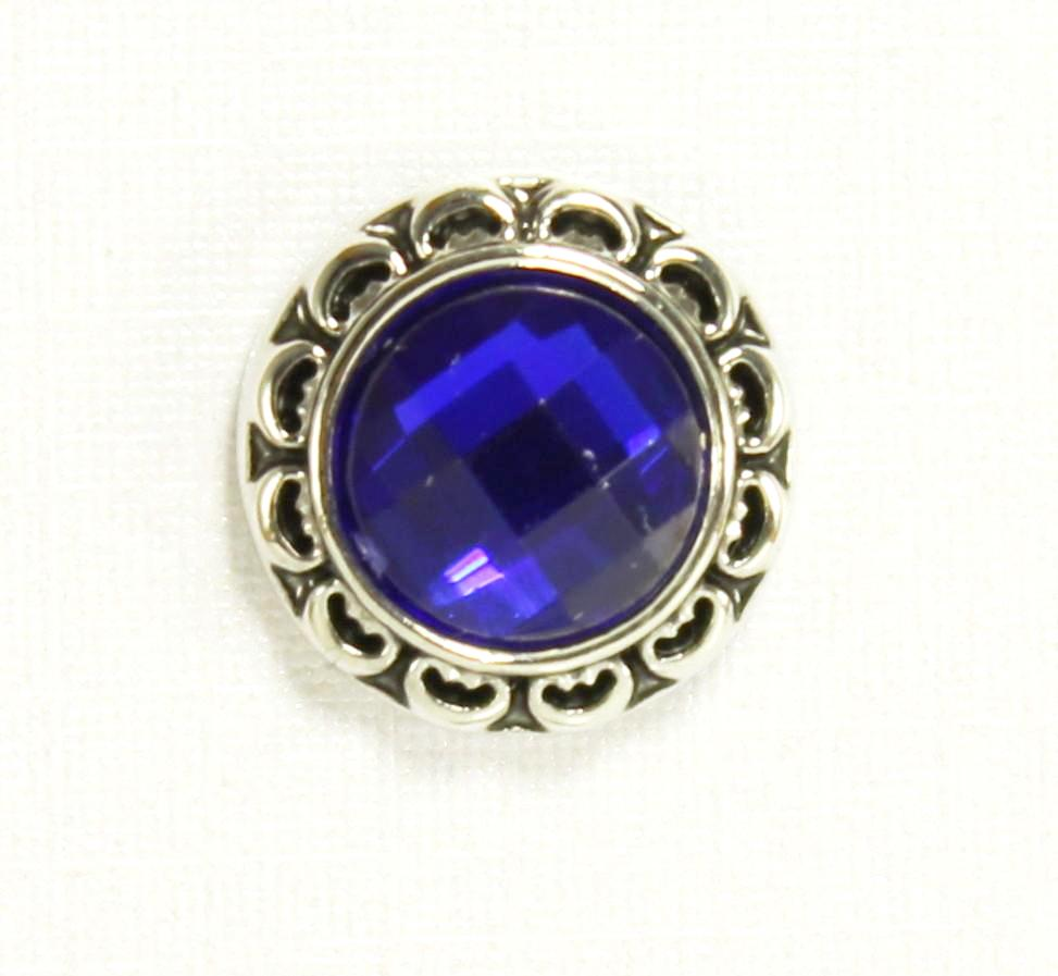 Sparkle Snap-Regal Navy Sparkle (12mm fits Sparkle Snap Ring and Circle Pendant only)