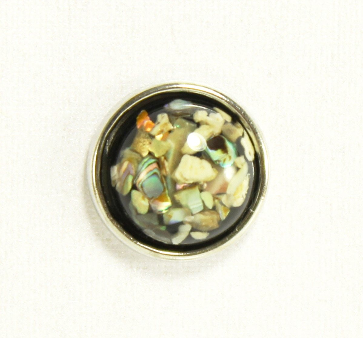 Sparkle Snap-Seashell Glitter (fits Sparkle Snap Ring and Circle Pendant only)