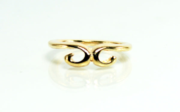 Golden Trendy Finger Ring