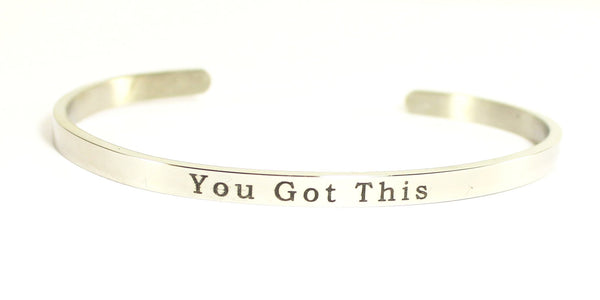 Love Your Life Bracelet-You Got This