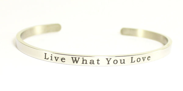 Love Your Life Bracelet-Live What You Love
