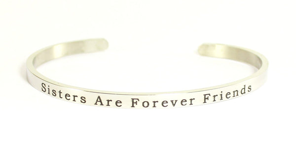 Love Your Life Bracelet-Sisters Are Forever Friends