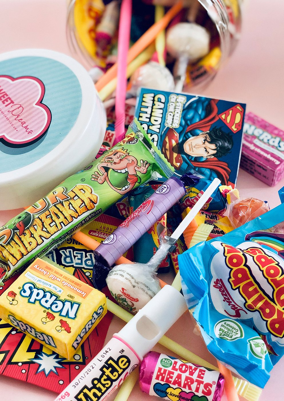 Retro Sweets - Sweet Dreams Candy Ltd