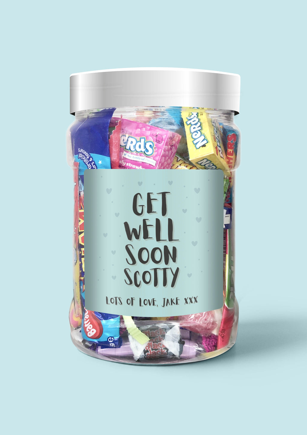 Get Well Soon - Sweet Dreams Candy Ltd