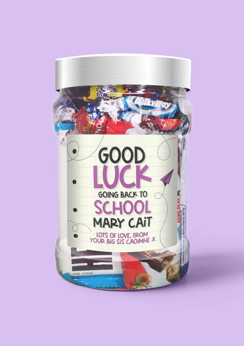 Good Luck back at School! - Sweet Dreams Candy
