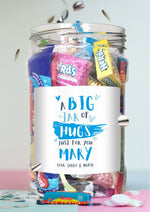 Jar of Hugs blue