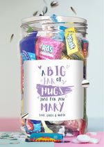 Jar of Hugs purple