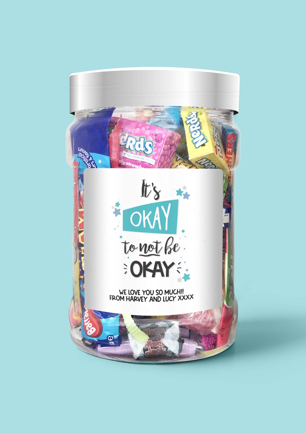 It's Okay To Not Be Okay - Sweet Dreams Candy Ltd