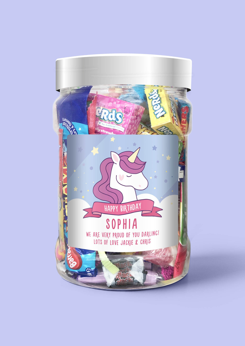 Unicorn Birthday - Sweet Dreams Candy
