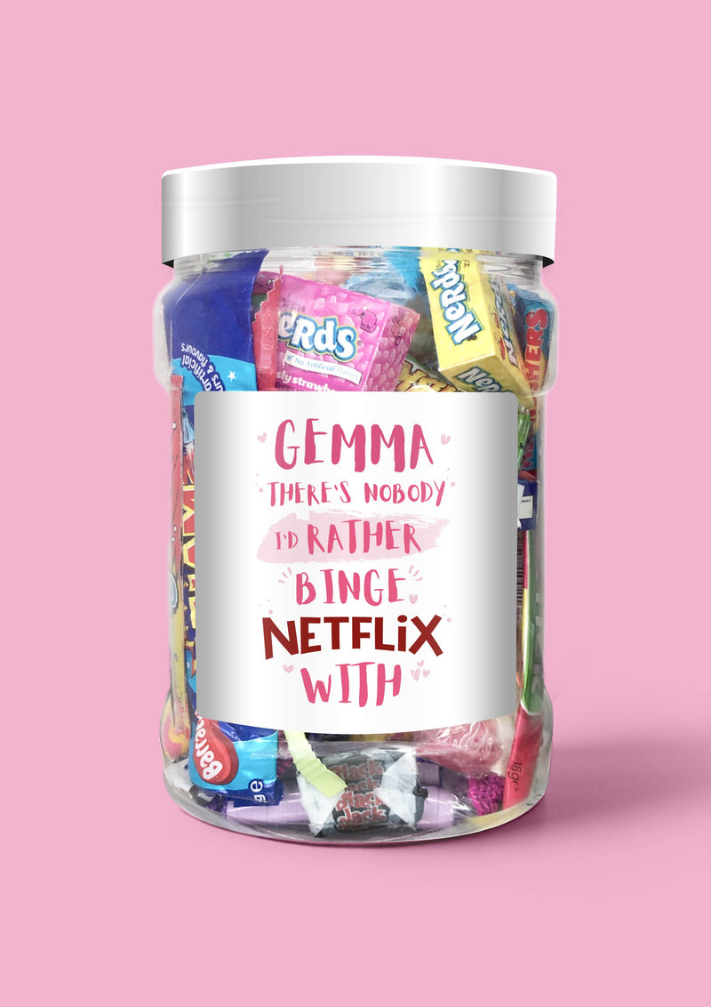 Netflix and Chill - Sweet Dreams Candy