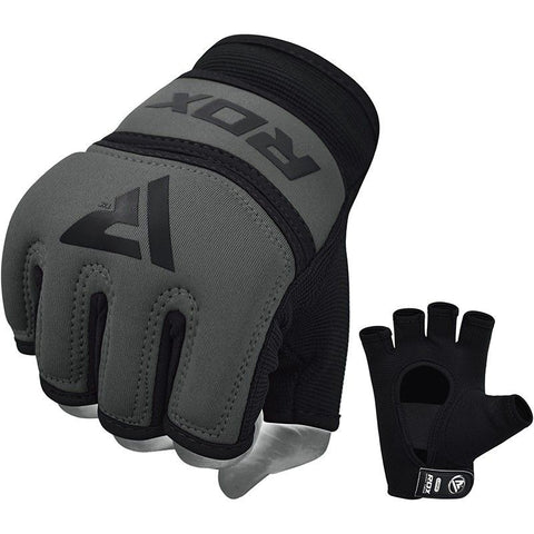 RDX Grappling Handschuh Gel X6 grau S-XL