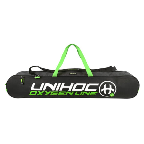 Floorball Teamtasche, Toolbag Unihoc Oxygen line junior 12 Stöcke