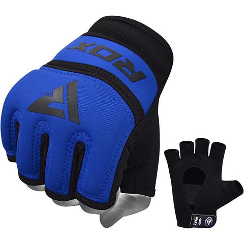 RDX Grappling Handschuh Gel X6 blau S-XL