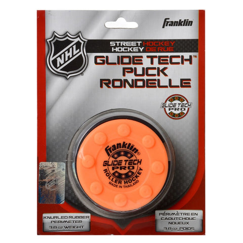 Franklin Glide Tech PRO Puck - Blister Hockey Puck Street