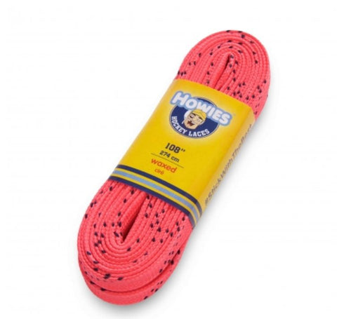 Howies colored Wax Molded Tip laces Schnürsenkel pink