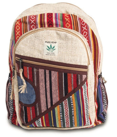 Rucksack Nepal  hand made cultbagz multi colors