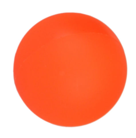 Hockeyball mittelhart Field-Hockey orange 70g | Inlinehockey Ball