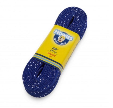 Howies colored Wax Molded Tip laces Schnürsenkel royal blue