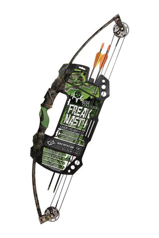 Barnett Compoundbogen inkl. Zubehör Brotherhood Freak Nasty 25 lbs
