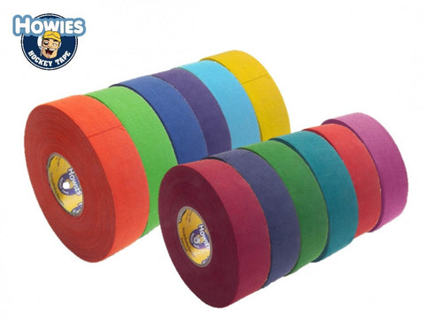"Howies 1"" 25 Yard Cloth premium colored Tape"