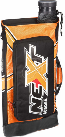 Rucksack f. Bogensport, Recurvebogen Tasche Aurora Next archery bag black-orange