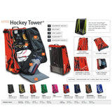 Tasche Grit HTFX Hockey Tower senior Boston schwarz/gelb