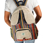 Rucksack Nepal  hand made cultbagz bee eyes